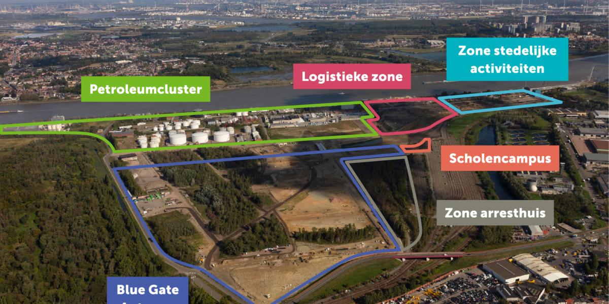 Kaart Blue Gate Antwerp 01